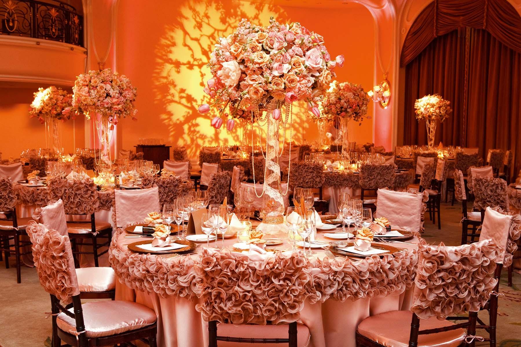 Какое оформление зала выбрать для свадьбы