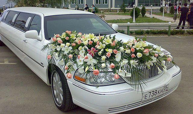 Оформление свадебных машин в Махачкале